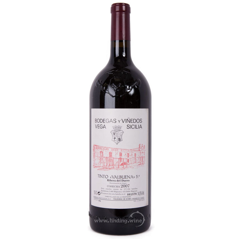 Bodegas Vega Sicilia 2007 - Valbuena 5º Año 1.5 L |  Red wine  | Be part of the Best Wine Store online