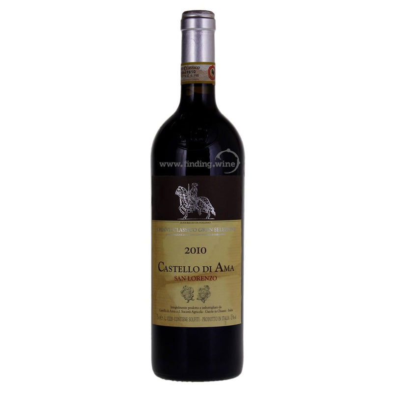 Catello di Ama _ 2010 - Chianti Classico Vigneto La Casuccia _ 750 ml. - Red - www.finding.wine - Catello di Ama