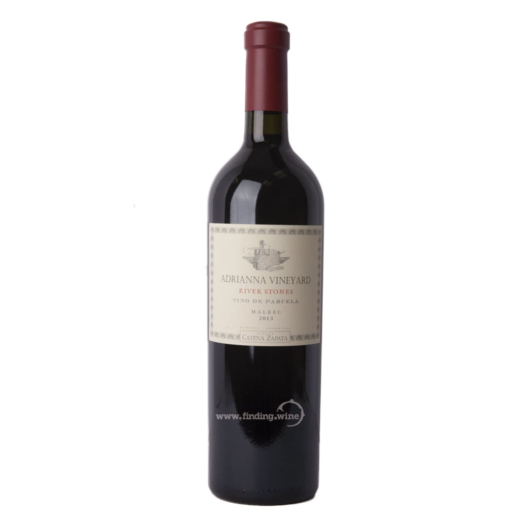 Catena Zapata _ 2013 - Adrianna River Stones _ 750 ml. - Red - www.finding.wine - Catena Zapata