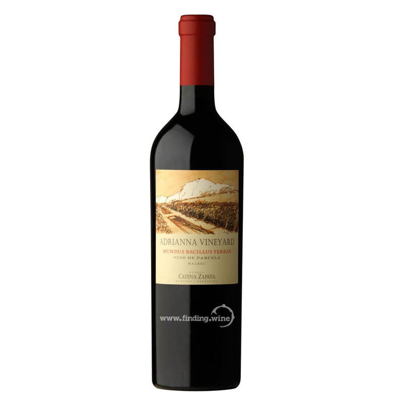 Catena Zapata _ 2014 - Adrianna Vineyard Mundus Bacillus Terrae _ 750 ml. - Red - www.finding.wine - Catena Zapata