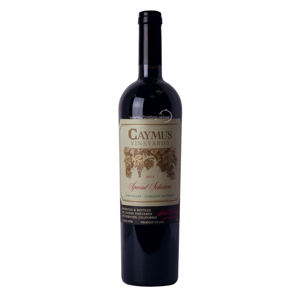 Caymus Vineyards 2015 - Special Selection 750 ml. -  Red wine - Caymus Vineyards - finding.wine - wine - top wine - rare wine
