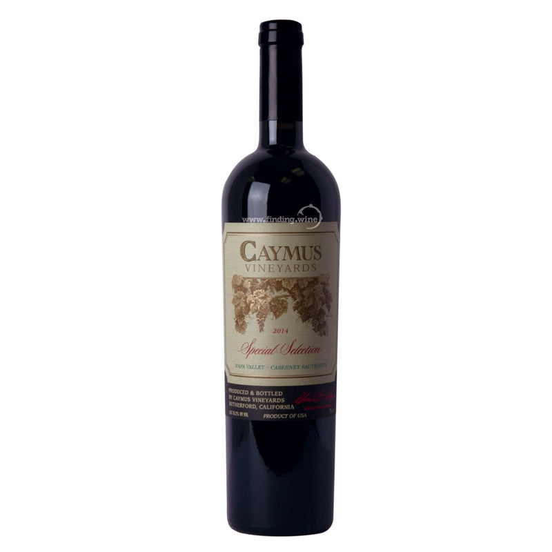 Caymus Vineyards _ 2014 - Special Selection _ 750 ml. - Red - www.finding.wine - Caymus Vineyards