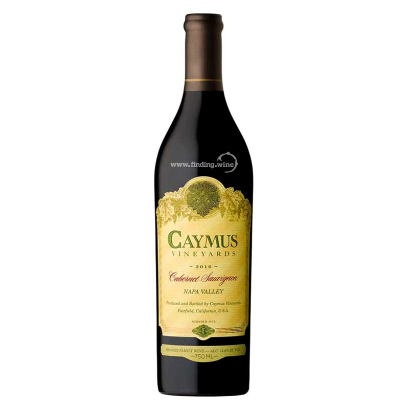 Caymus Vineyards _ 2016 - Caymus Cabernet _ 750 ml. - Red - www.finding.wine - Caymus Vineyards