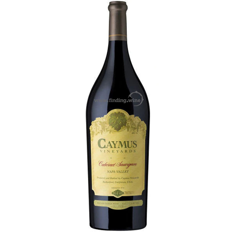 Caymus Vineyards _ 2017 - Caymus Cabernet _ 1.5 L - Red - www.finding.wine - Caymus Vineyards