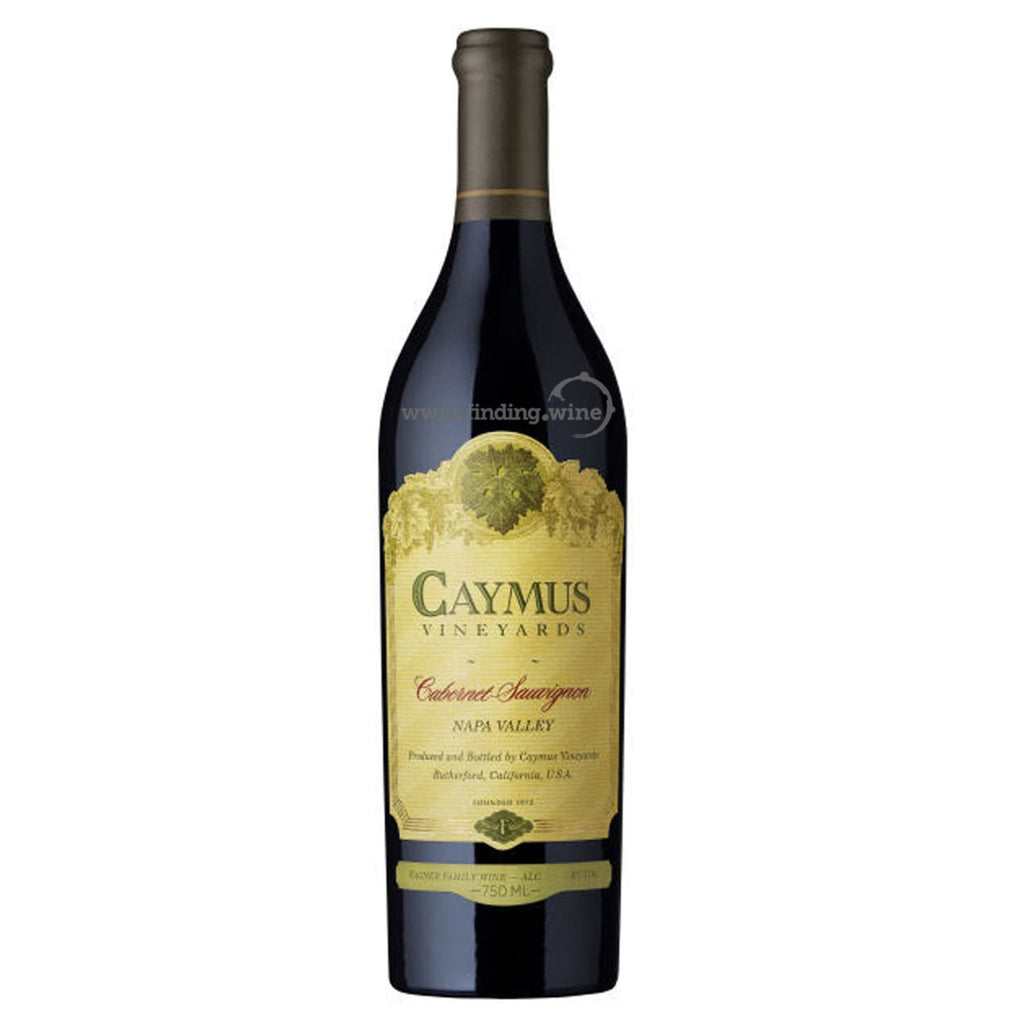 Caymus Vineyards _ 2017 - Caymus Cabernet _ 750 ml. - Red - www.finding.wine - Caymus Vineyards