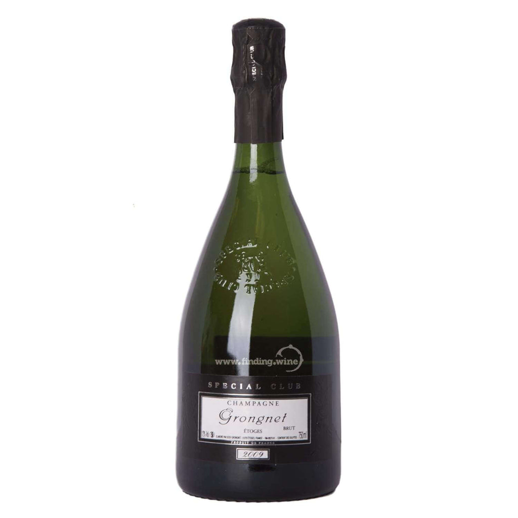 Champagne Grongnet 2009 - Special Club Brut Millesime 750 ml -  Sparkling wine - Champagne Grongnet - finding.wine - wine - top wine - rare wine