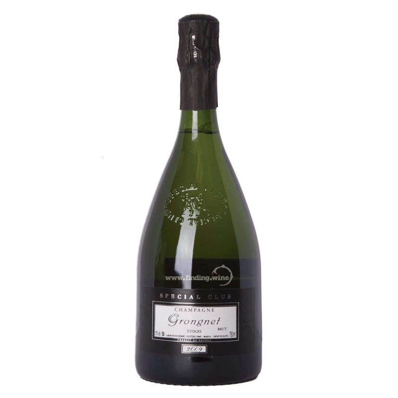 Buy Wine Online | Champagne Grongnet 2009 750 ml | Be part of Finding Wine Store