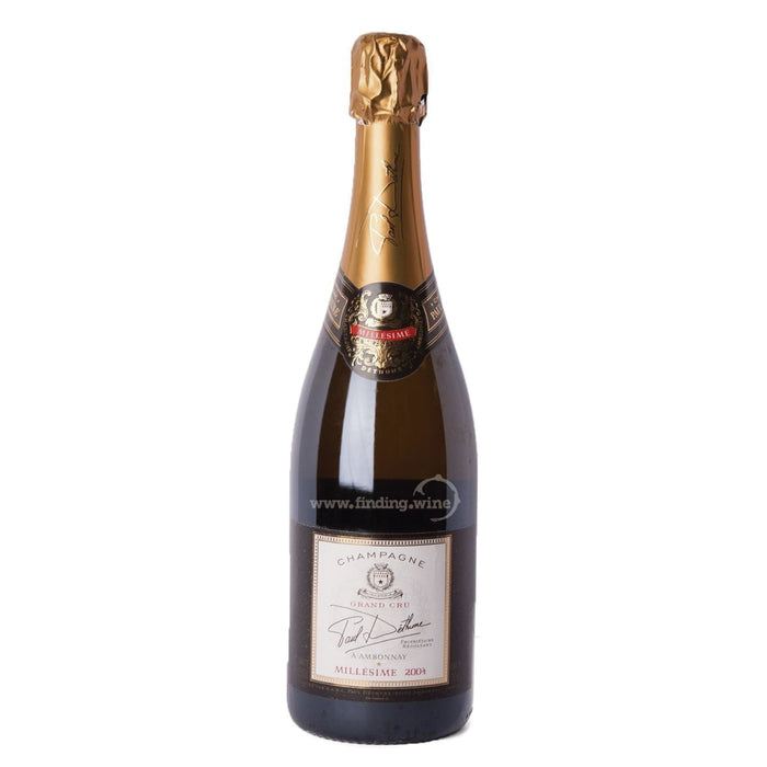 Champagne Paul Dethune 2004 - Millesimé Grand Cru 750 ml.