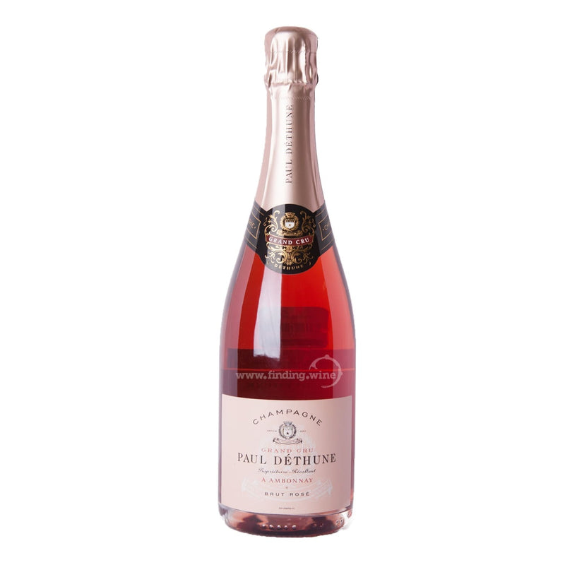 Champagne Paul Dethune _ NV - Grand Cru Brut Rose _ 750 ml. - Sparkling - www.finding.wine - Champagne Paul Dethune