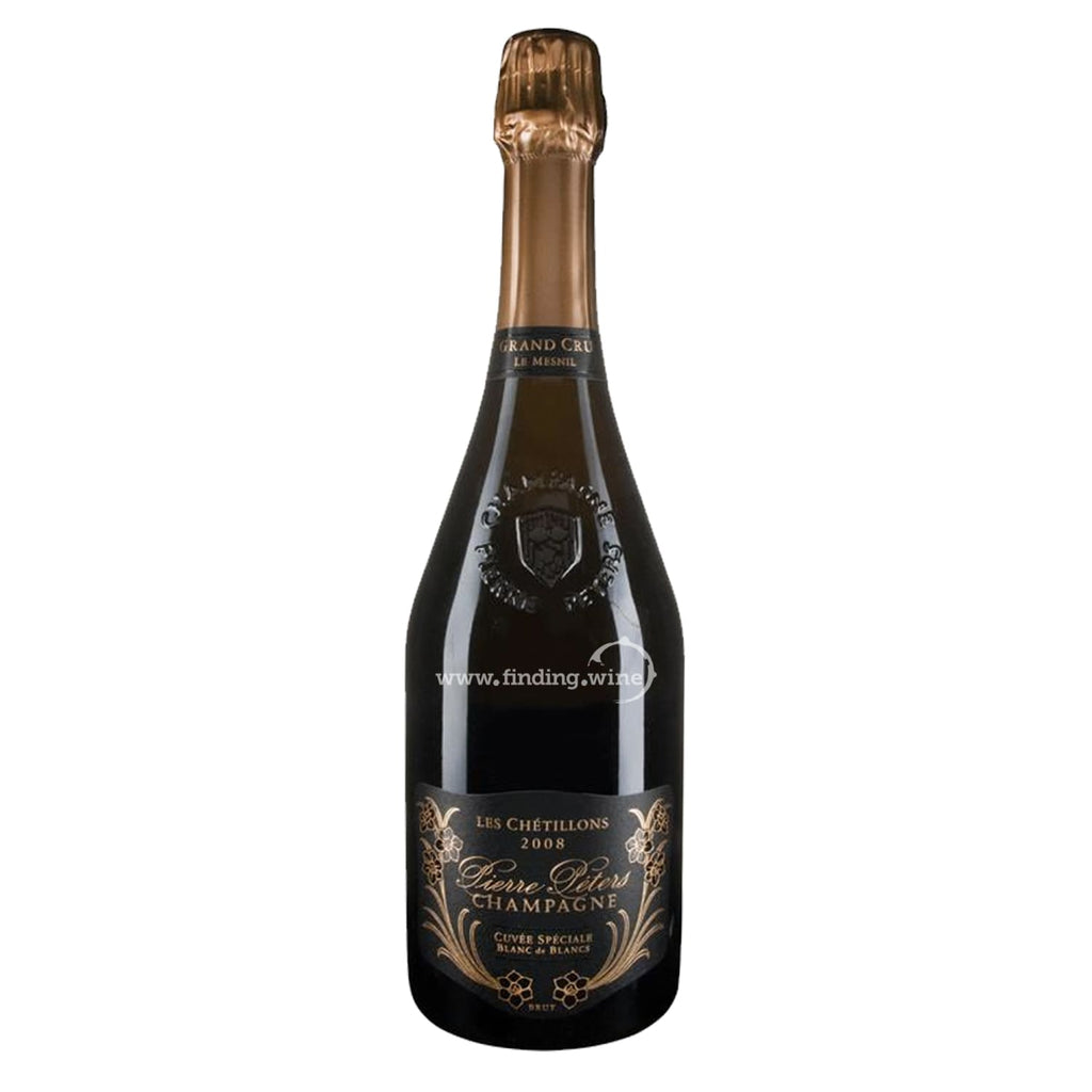 Champagne Pierre Peters _ 2008 - Blanc de Blancs Le Mesnil Cuvee Speciale Les Chetillons _ 750 ml. - Sparkling - www.finding.wine -