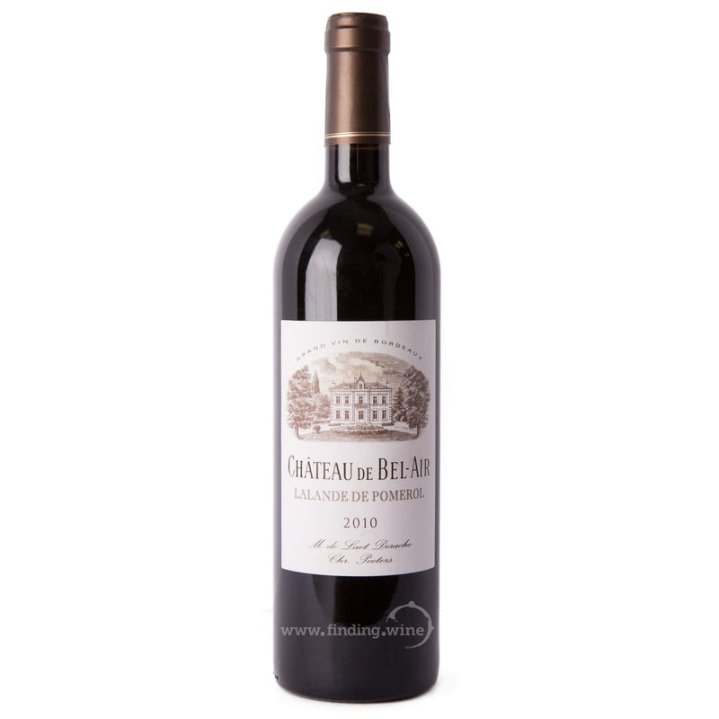 Chateau Bel-Air _ 2010 - Chateau Bel-Air _ 750 ml. - Red - www.finding.wine - Chateau Bel-Air