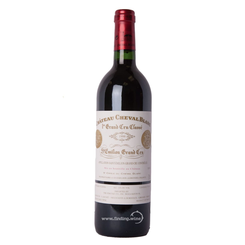 Chateau Cheval Blanc _ 1999 - Cheval Blanc _ 750 ml. - Red - www.finding.wine - Chateau Cheval Blanc