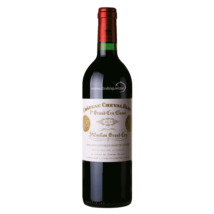 Chateau Cheval Blanc _ 2010 - Cheval Blanc _ Case 6 x 750 ml.