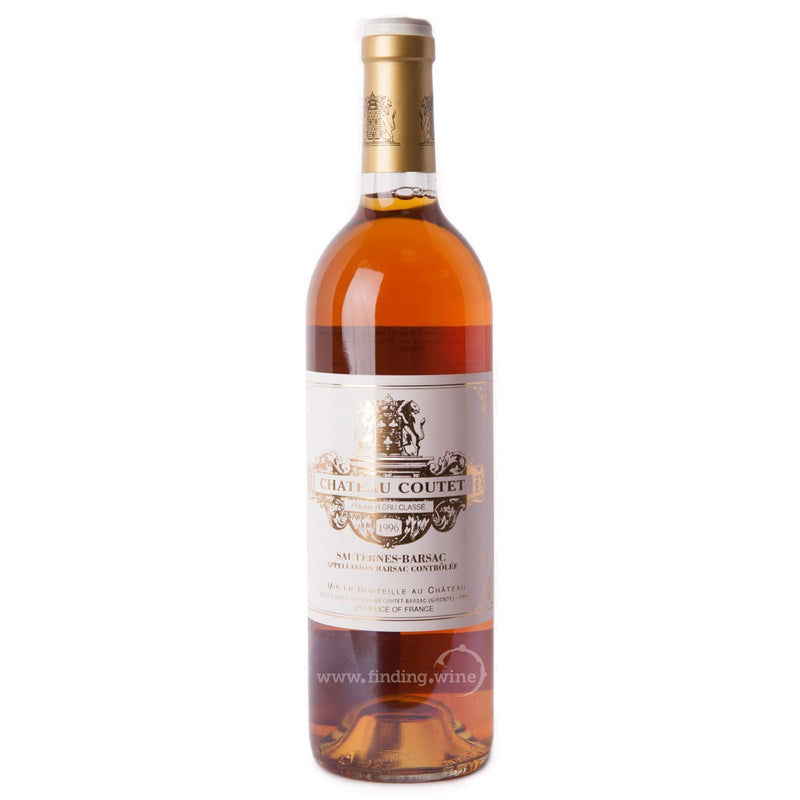 Chateau Coutet 1996 - Chateau Coutet Sauternes 750 ml. -  Dessert wine - Chateau Coutet - finding.wine - wine - top wine - rare wine