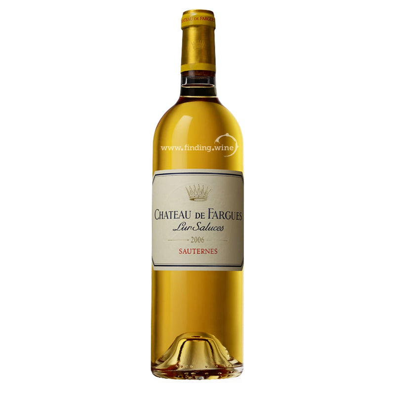 Chateau de Fargues _ 2006 - Sauternes _ 750 ml. - dessert - www.finding.wine - Chateau de Fargues