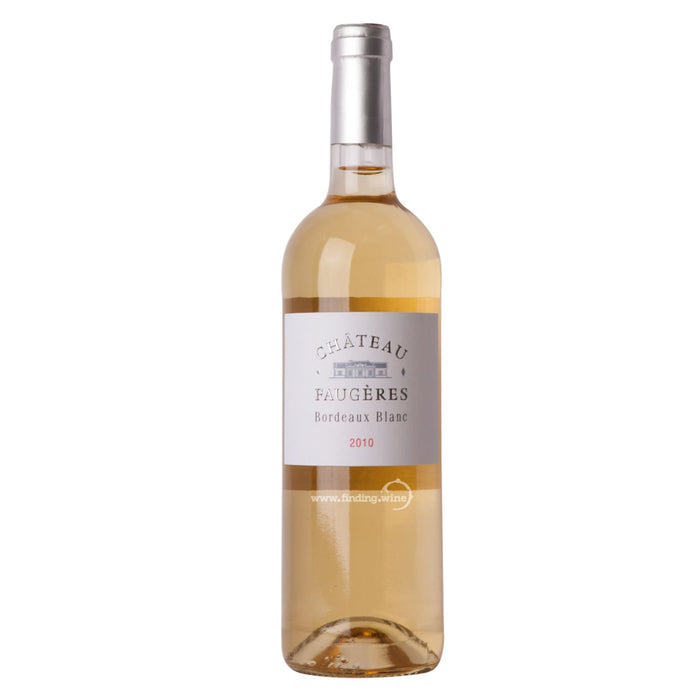 Chateau Faugeres 2010 - Bordeaux  Blanc 750 ml.