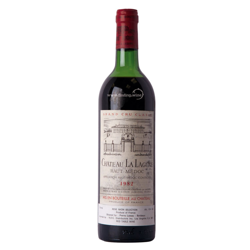 Chateau La Lagune _ 1982 - Haut-Medoc _ 750 ml. -  Red wine - Chateau La Lagune - finding.wine - wine - top wine - rare wine