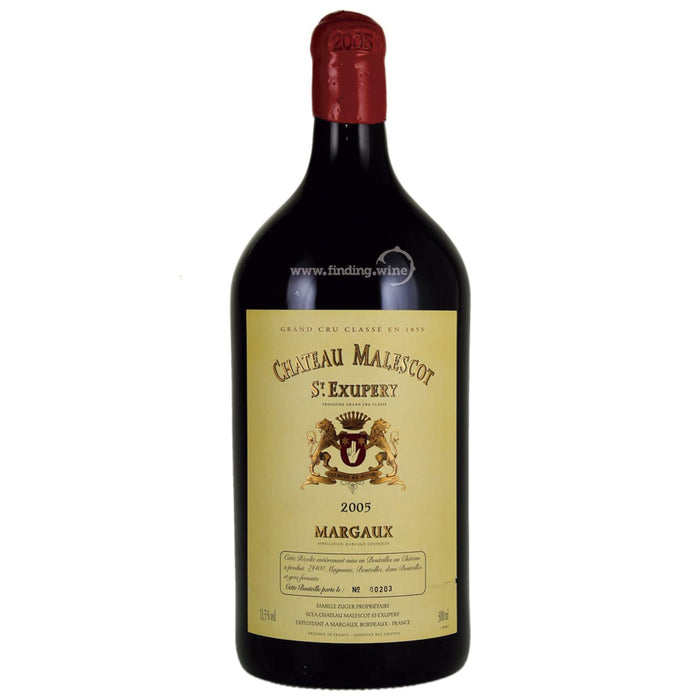 Chateau Malescot-St Exupery 2005 - Chateau Malescot-St Exupery 3 L