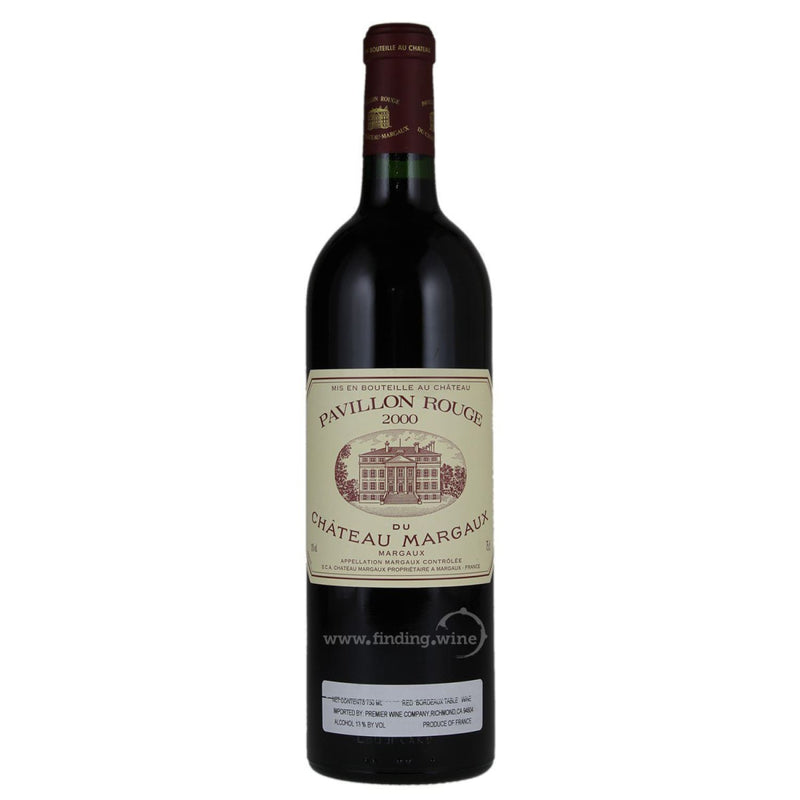 Chateau Margaux _ 2000 - Pavillon Rouge du Chateau Margaux _ 750 ml. - Red - www.finding.wine - Chateau Margaux