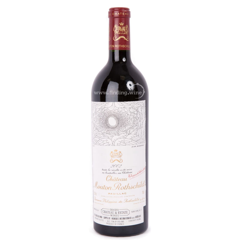 Chateau Mouton Rothschild _ 2002 - Mouton Rothschild _ 750 ml. - Red - www.finding.wine - Chateau Mouton Rothschild