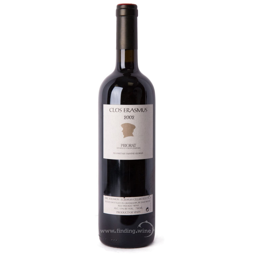 Clos i Terrasses _ 2002 - Clos Erasmus _ 750 ml. - Red - www.finding.wine - Clos i Terrasses