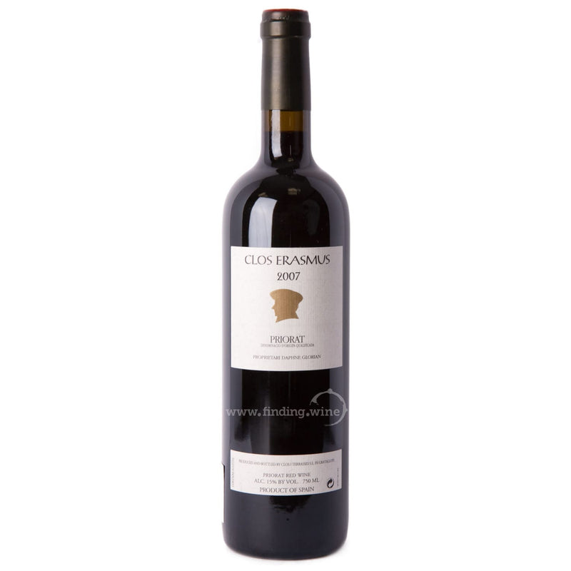 Clos i Terrasses 2007 - Clos Erasmus 750 ml. -  Red wine - Clos i Terrasses - finding.wine - wine - top wine - rare wine