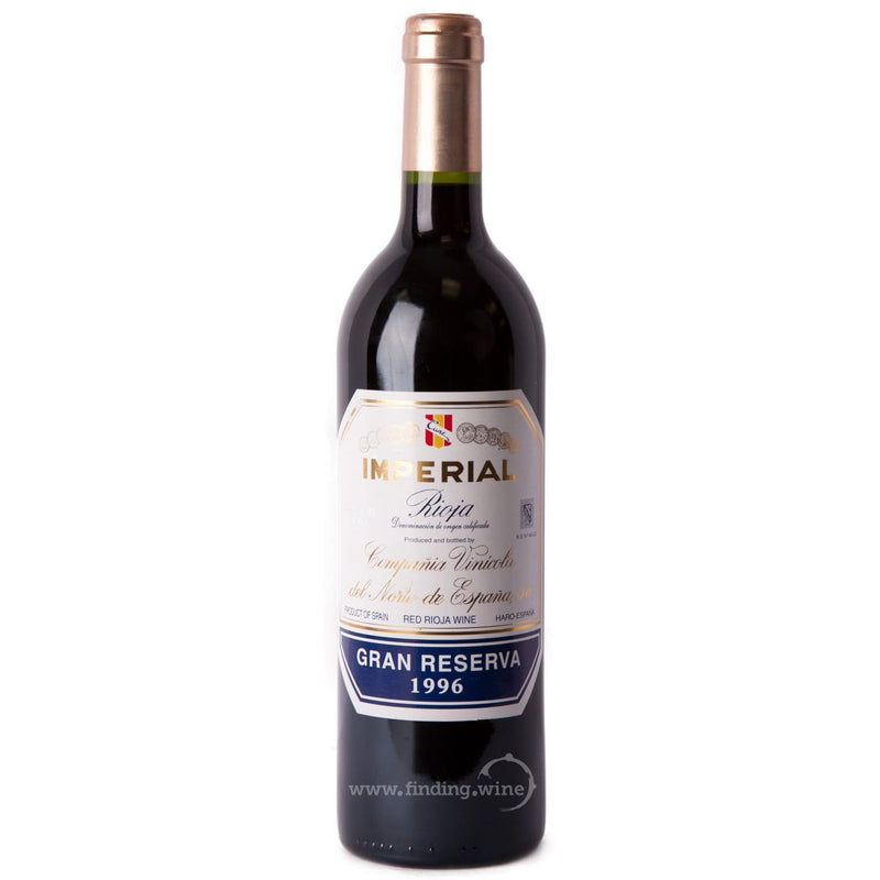 Compañia Vinicola del Norte de España (CVNE) 1996 - CVNE Imperial Gran Reserva 750 ml. |  Red wine  | Be part of the Best Wine Store online