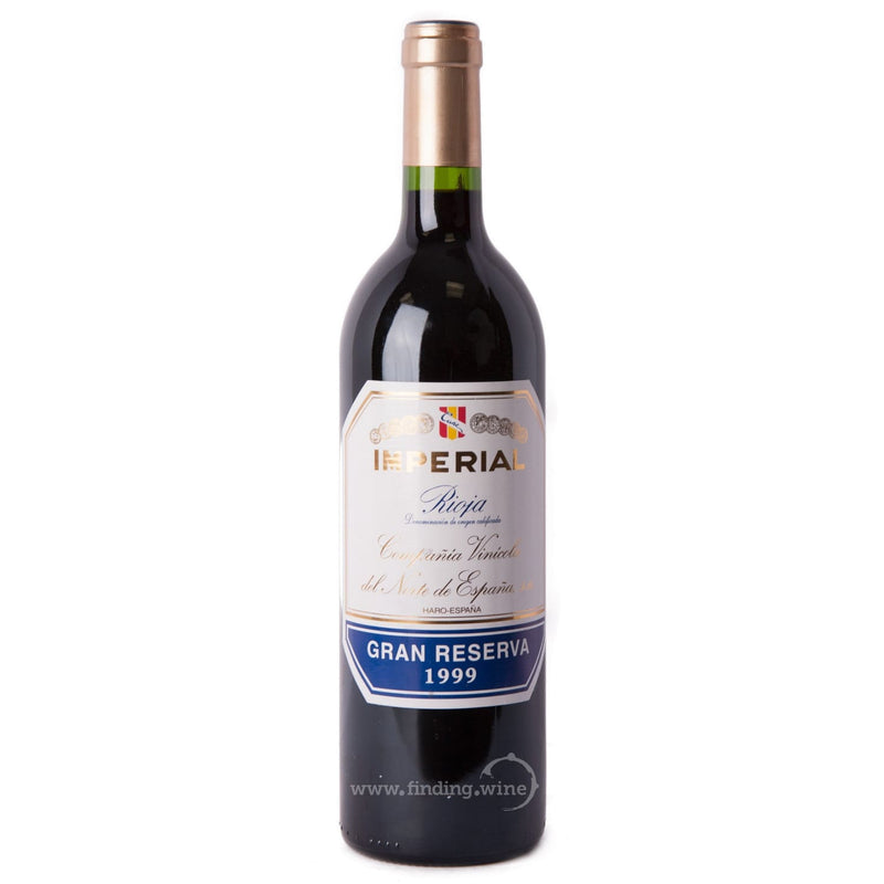 Compañia Vinicola del Norte de España (CVNE) 1999 - CVNE Imperial Gran Reserva 750 ml. |  Red wine  | Be part of the Best Wine Store online