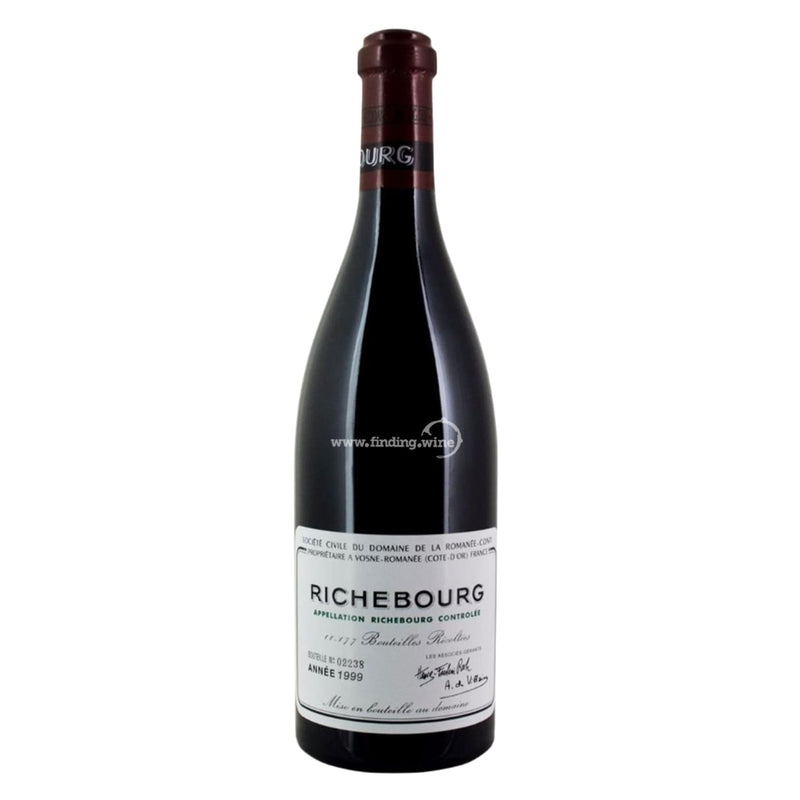 Domaine de la Romanee Conti _ 1999 - Richebourg _ 750 ml. - Red - www.finding.wine - Domaine de la Romanee Conti