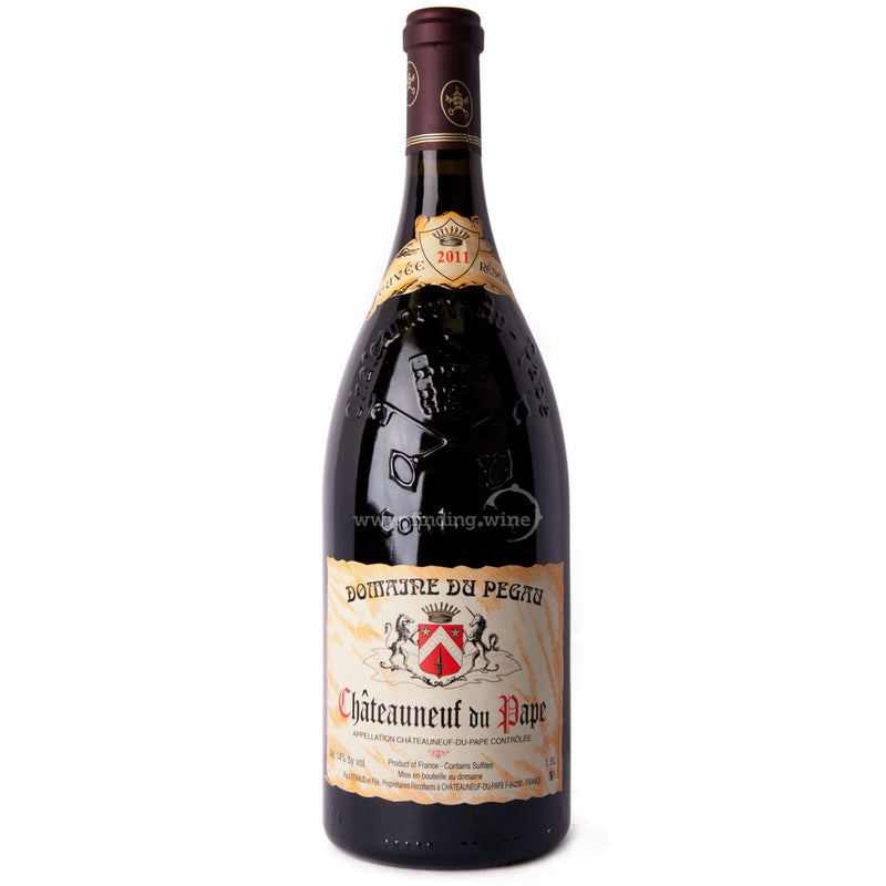 Domaine du Pegau _ 2011 - Chateauneuf du Pape Cuvee Reservee _ 1.5 L - Red - www.finding.wine - Domaine du Pegau