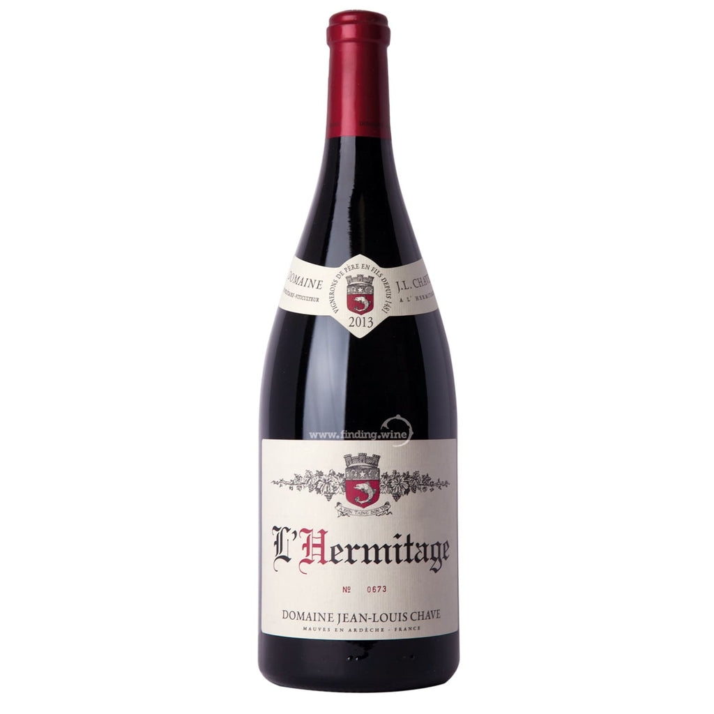 Domaine Jean-Louis Chave _ 2013 - LHermitage Rouge _ 1.5 L - Red - www.finding.wine - Domaine Jean-Louis Chave