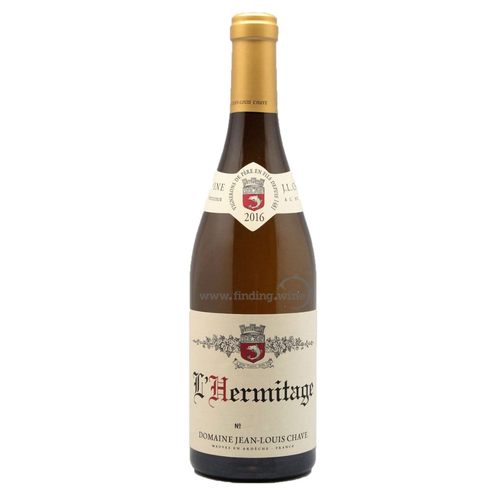 Domaine Jean-Louis Chave _ 2016 - Hermitage Blanc _ 750 ml. - White - www.finding.wine - Domaine Jean-Louis Chave