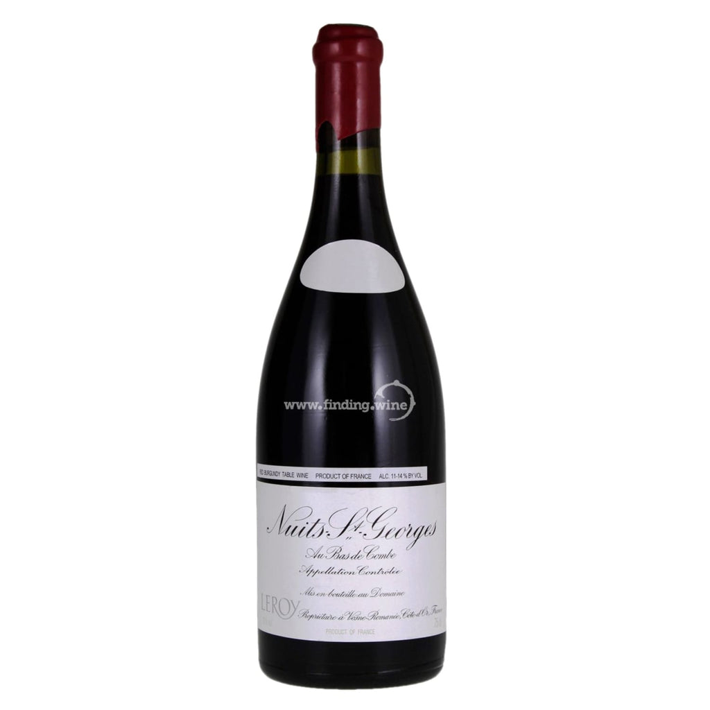 Domaine Leroy _ 2013 - Nuits Saints George 1er Cru Aux Bas de Combe _ 750 ml. - Red - www.finding.wine - Domaine Leroy