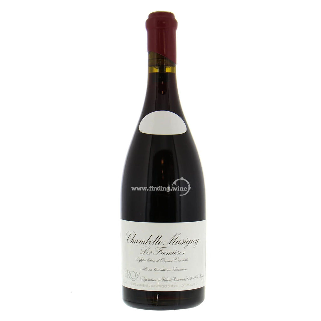 Domaine Leroy _ 2014 - Chambolle-Musigny Les Fremières _ 750 ml. - Red - www.finding.wine - Domaine Leroy