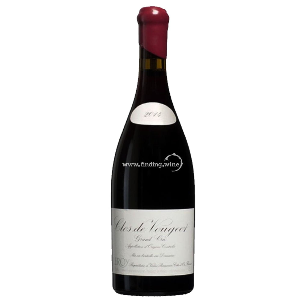 Domaine Leroy _ 2014 - Clos de Vougeot Grand Cru _ 750 ml. - Red - www.finding.wine - Domaine Leroy