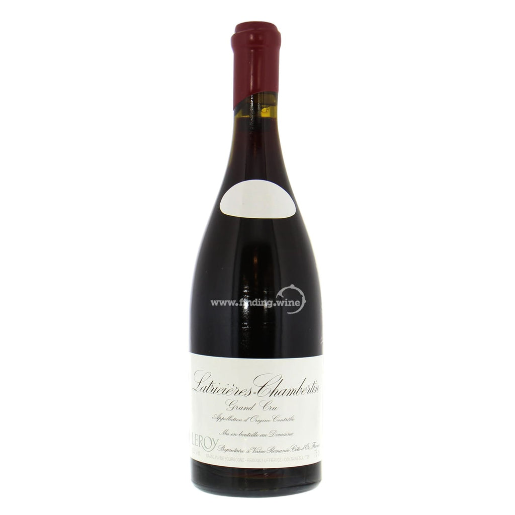 Domaine Leroy _ 2014 - Latricieres Chambertin Grand Cru _ 750 ml. - Red - www.finding.wine - Domaine Leroy