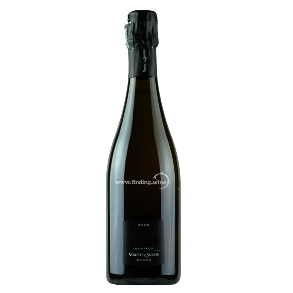 "Domaine Vouette et Sorbee 2008 - Champagne Extra Brut ""Extrait"" 750 ml. -  Sparkling wine - Domaine Vouette et Sorbee - finding.wine - wine - top wine - rare wine"