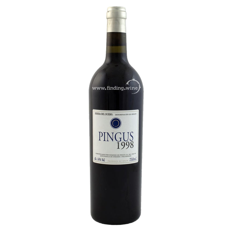 Dominio de Pingus _ 1998 - Pingus _ 750 ml. - Red - www.finding.wine - Dominio de Pingus