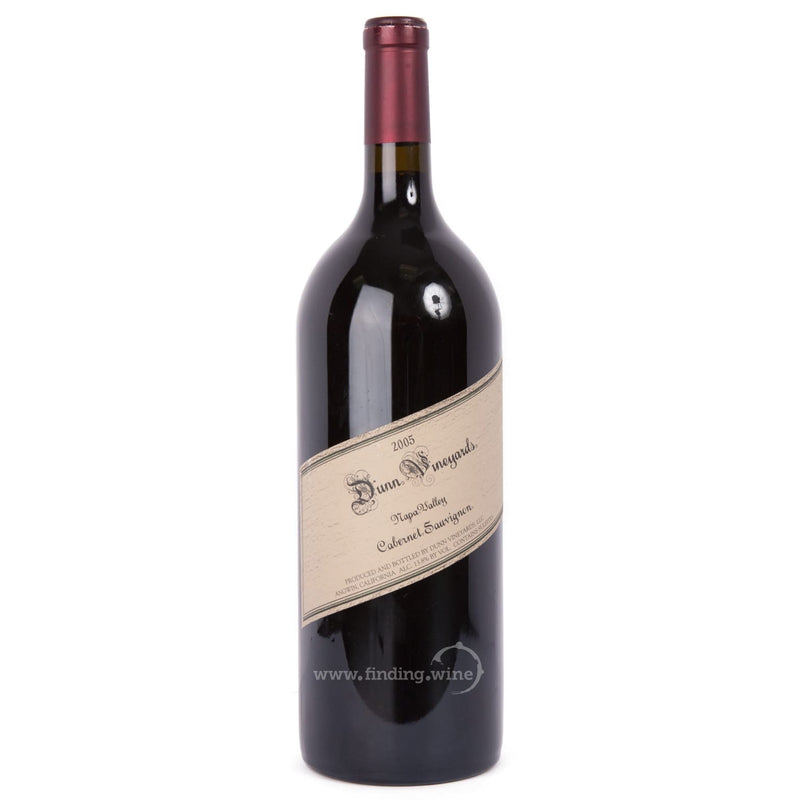 Dunn Vineyards _ 2005 - Dunn Cabernet Napa _ 1.5 L - Red - www.finding.wine - Dunn Vineyards