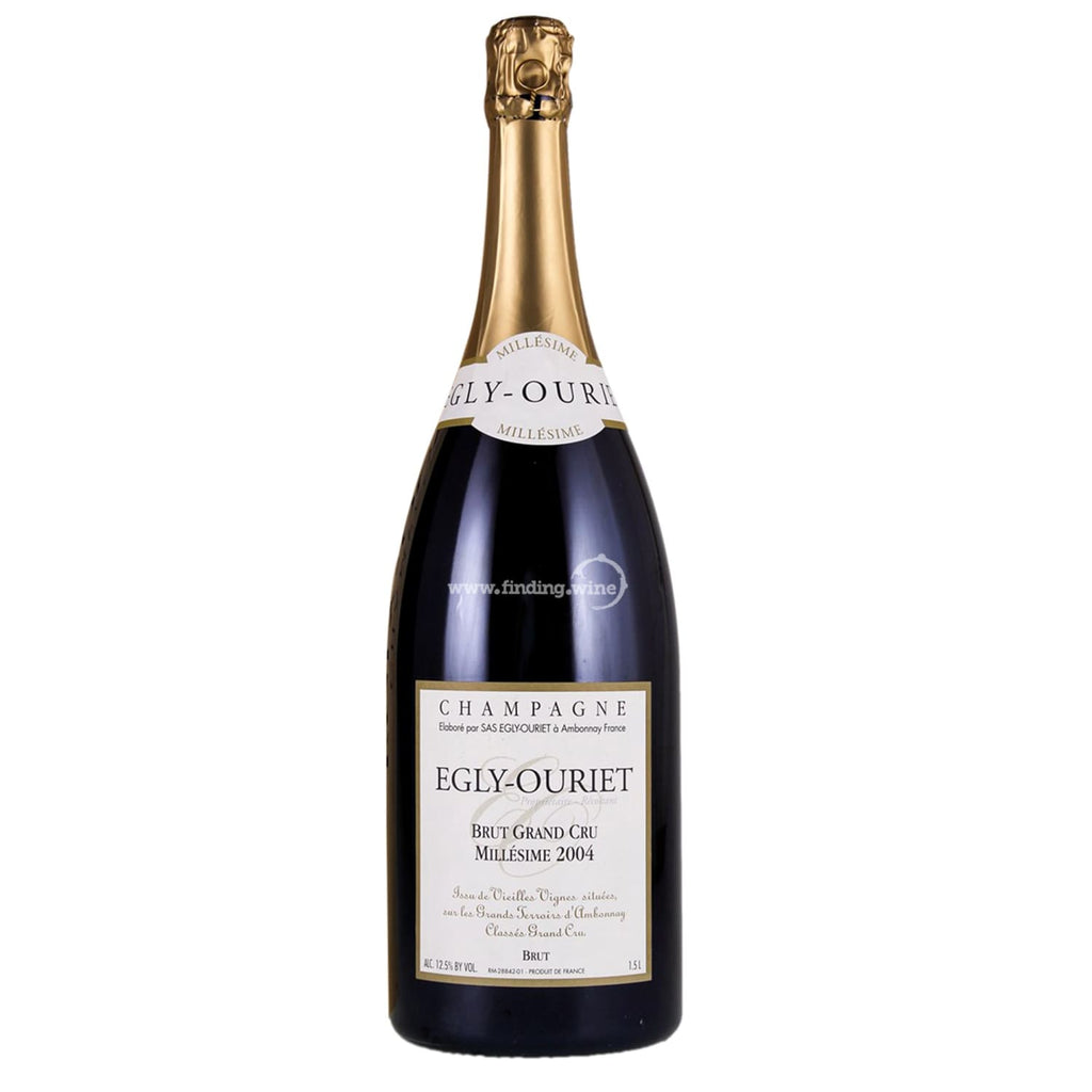 Egly-Ouriet _ 2004 - Grand Cru Brut Millesime _ 1.5 L - Sparkling - www.finding.wine - Egly-Ouriet