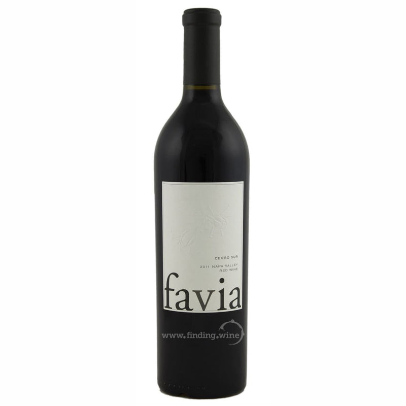 Favia Wines _ 2011 - Favia Cerro Sur _ 750 ml. - Red - www.finding.wine - Favia Wines
