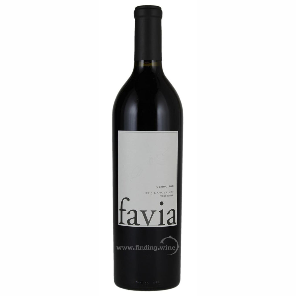 Favia Wines _ 2013 - Favia Cerro Sur _ 750 ml. - Red - www.finding.wine - Favia Wines