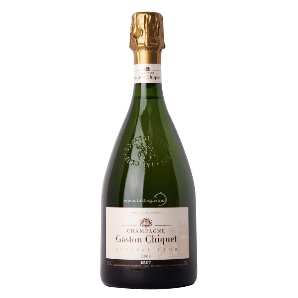 Gaston Chiquet _ 2008 - Special Club Brut Millesime _ 750 ml. - Sparkling - www.finding.wine - Gaston Chiquet