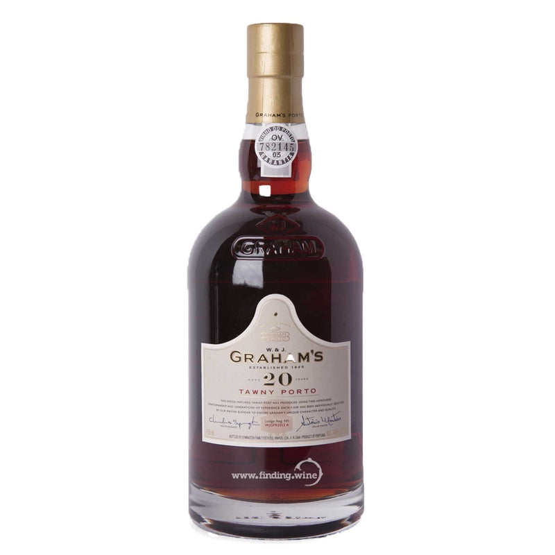 Grahams _ NV - Tawny 20 yr _ 750 ml. - www.finding.wine - Grahams