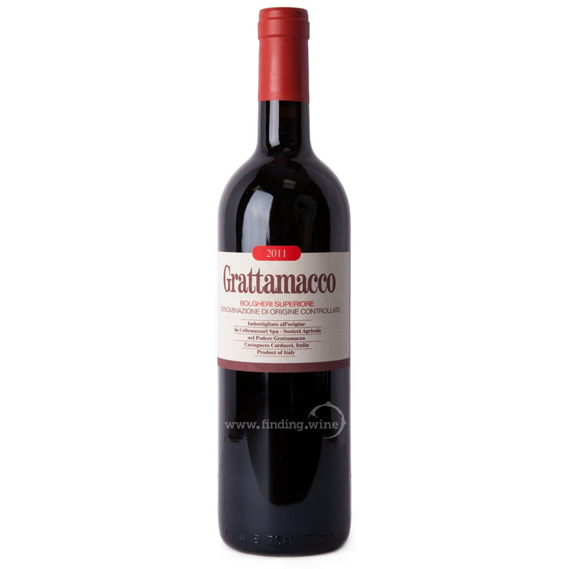 Grattamacco _ 2011 - Grattamacco Superiore _ 750 ml. - Red - www.finding.wine - Grattamacco
