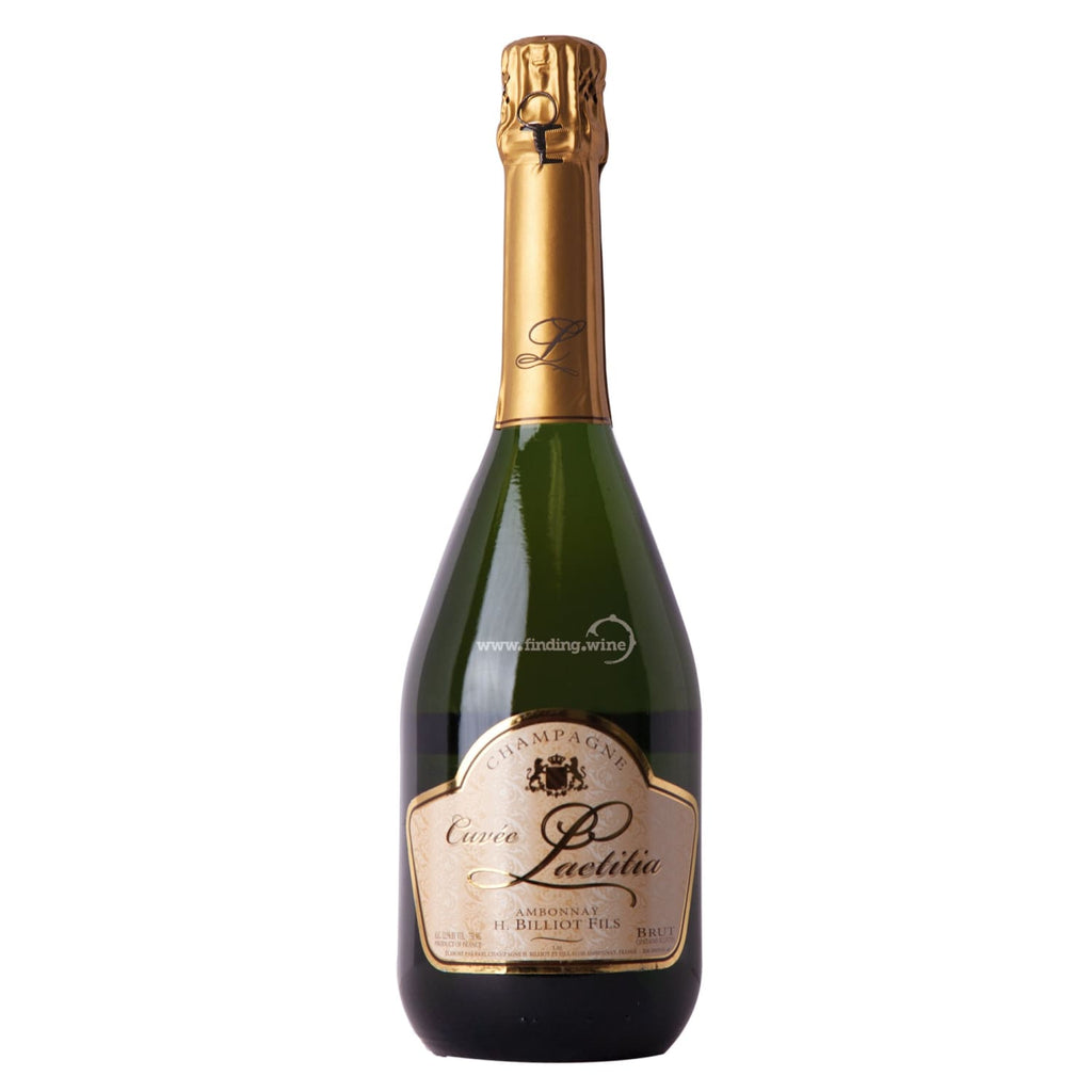 Henri Billiot _ NV - Cuvée Laetitia Brut _ 750 ml. - Sparkling - www.finding.wine - Henri Billiot
