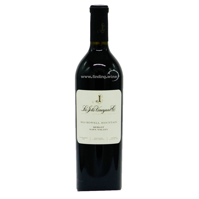 La Jota _ 2014 - Howell Mountain _ 750 ml. - Red - www.finding.wine - La Jota