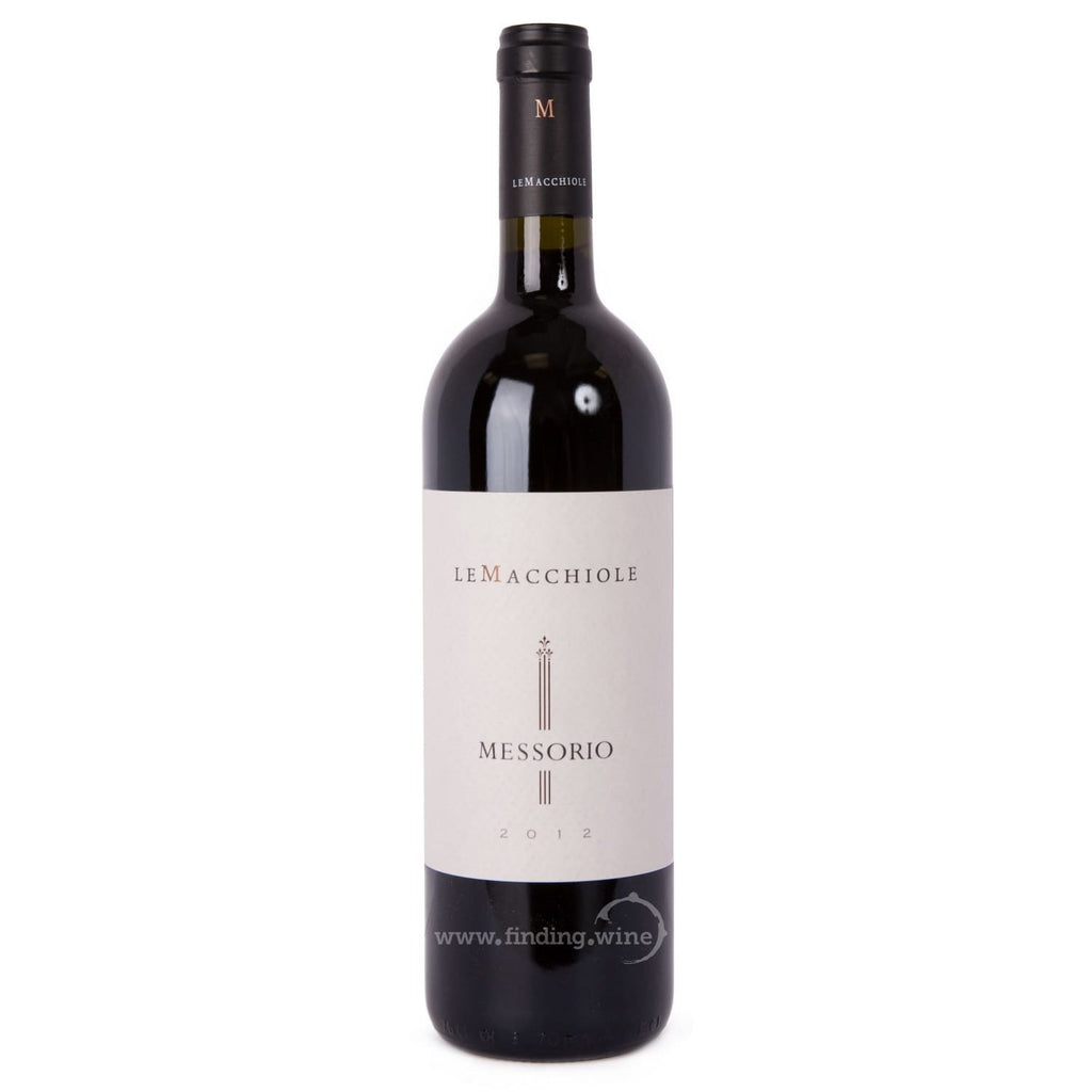 Le Macchiole _ 2012 - Messorio _ 750 ml. - Red - www.finding.wine - Le Macchiole