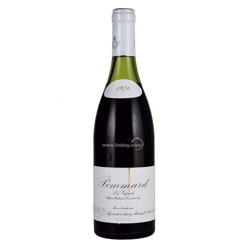 Maison Leroy _ 1976 - Pommard Les Vignots _ 750 ml. - Red - www.finding.wine - Maison Leroy