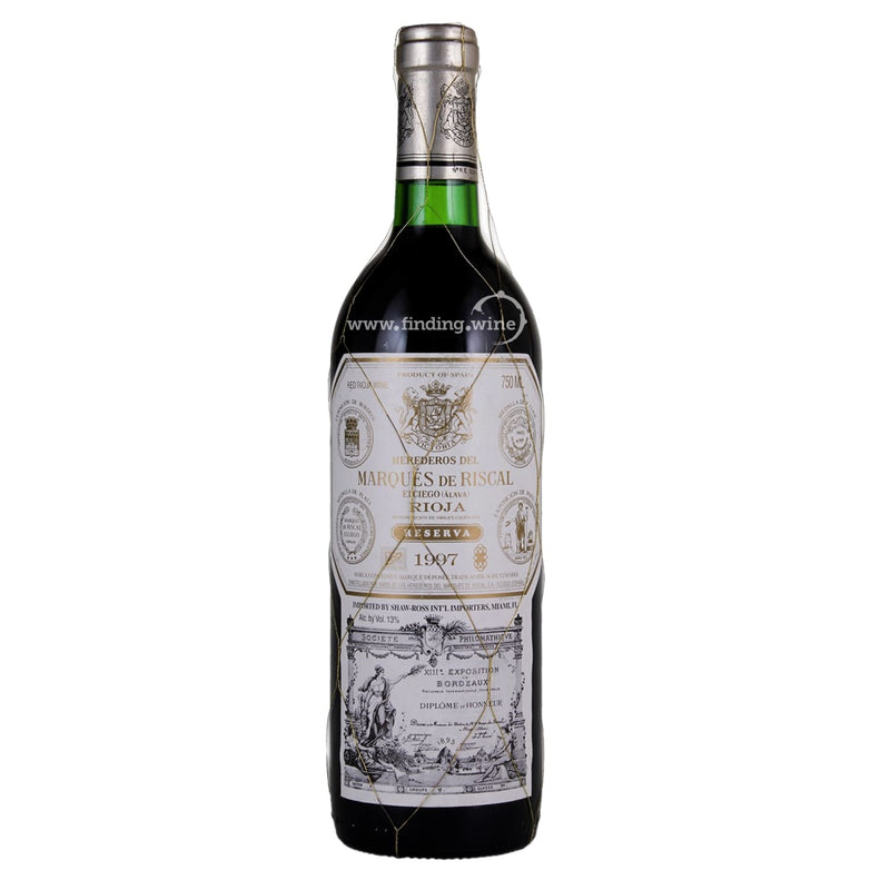Marques de Riscal _ 1997 - Elciego Alava Reserva _ 750 ml. - Red - www.finding.wine - Marques de Riscal